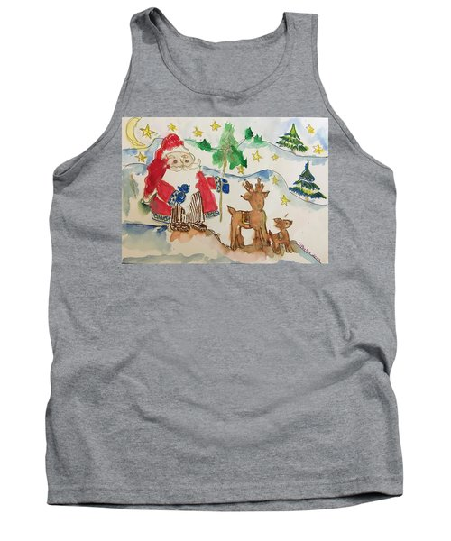 Christmas Is Coming  Tank Top
