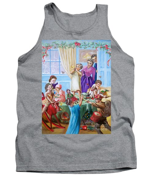 American History  We Say Merry  Christmas  Because It Is Christmas  Tank Top