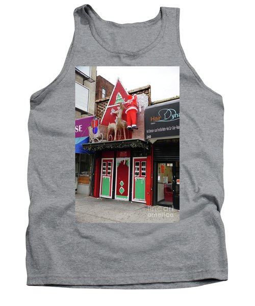 Tank Top featuring the photograph Christmas On Sherman Avenue  by Cole Thompson