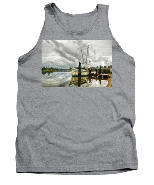 Christy Lynn On Bon Secour Tank Top