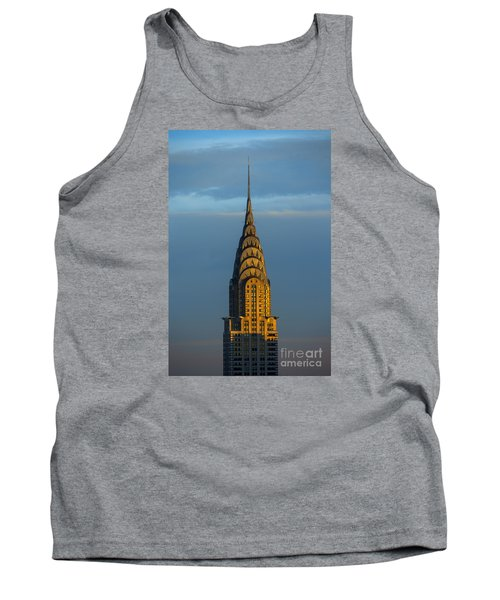 Chrysler Building In The Evening Light Tank Top by Diane Diederich