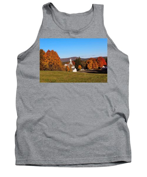 Church And Mountain Tank Top
