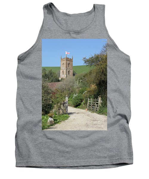 Church And The Flag Tank Top