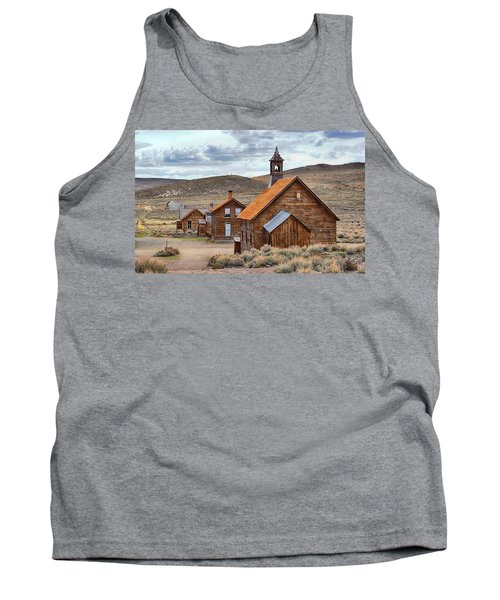 Church At Bodie Ghost Town Tank Top