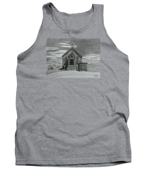Church  At Bodie  Tank Top by Tony Clark