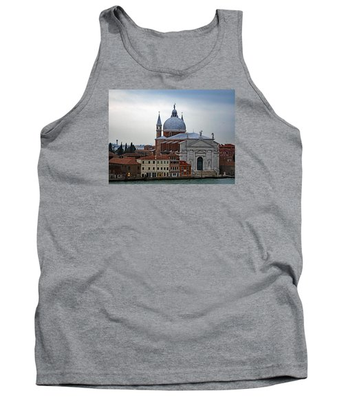 Church Of The Santissimo Redentore On Giudecca Island In Venice Italy Tank Top