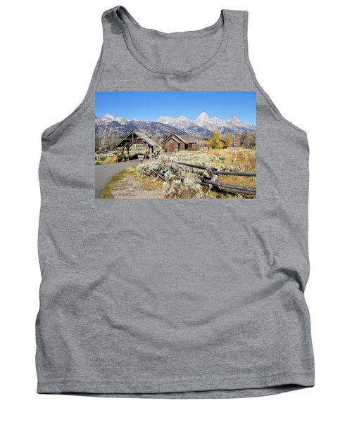 Church Of The Transfiguration Tank Top by Shirley Mitchell