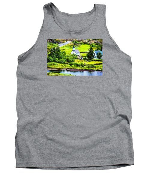 Church On The Green Tank Top