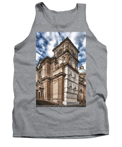 Church Tank Top by Patrick Boening