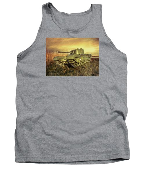 Tank Top featuring the photograph Churchill Tank by Roy McPeak