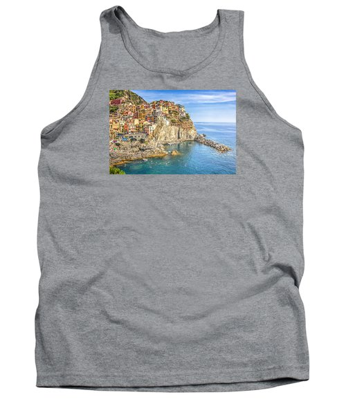 Tank Top featuring the photograph Cinque Terre by Brent Durken