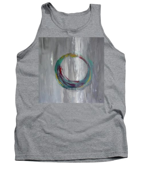 Tank Top featuring the painting Vortex by Victoria Lakes