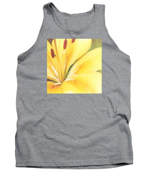 Citrine Blossom Tank Top