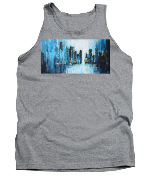 City Blues Tank Top