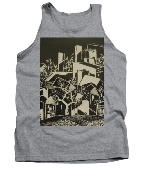 City By Moonlight - Sold Tank Top