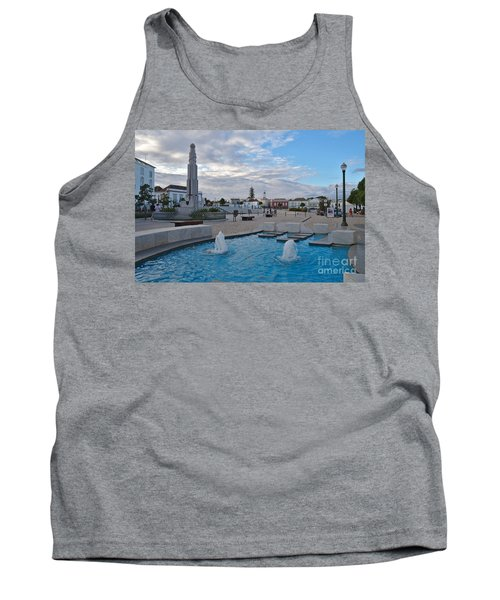 City Center Of Tavira Tank Top by Angelo DeVal