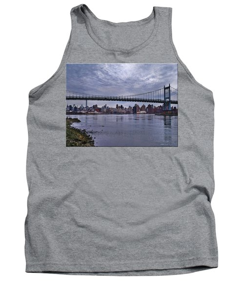 City Scape From Astoria Park Tank Top by Mikki Cucuzzo