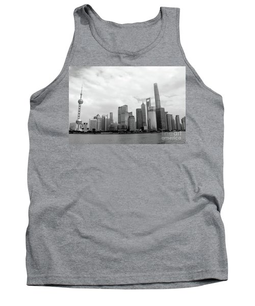 Tank Top featuring the photograph City Skyline by MGL Meiklejohn Graphics Licensing