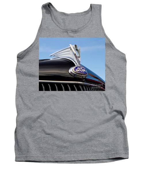 Classic 1935 Ford Hood Ornament Tank Top