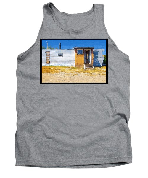 Tank Top featuring the photograph Classic Trailer by Susan Kinney