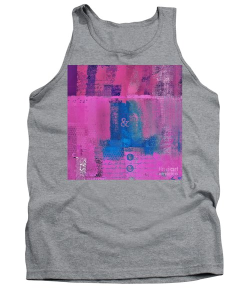 Tank Top featuring the digital art Classico - S0307d by Variance Collections