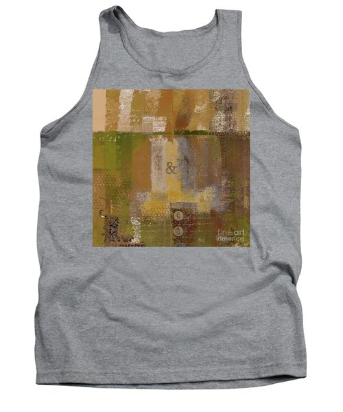 Tank Top featuring the digital art Classico - S0309b by Variance Collections