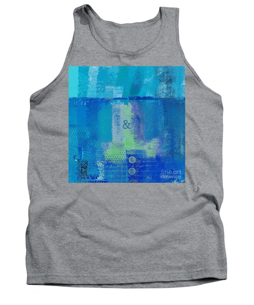 Tank Top featuring the digital art Classico - S03c06 by Variance Collections