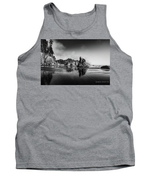 Clear Day At Ruby Beach Tank Top