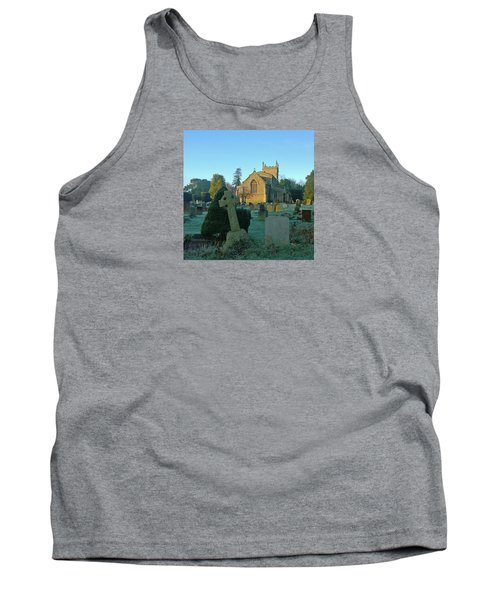 Clear Light In The Graveyard Tank Top by Anne Kotan