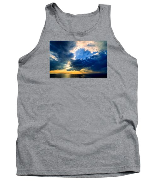 Clearing Storm Halibut Pt. Tank Top by Michael Hubley