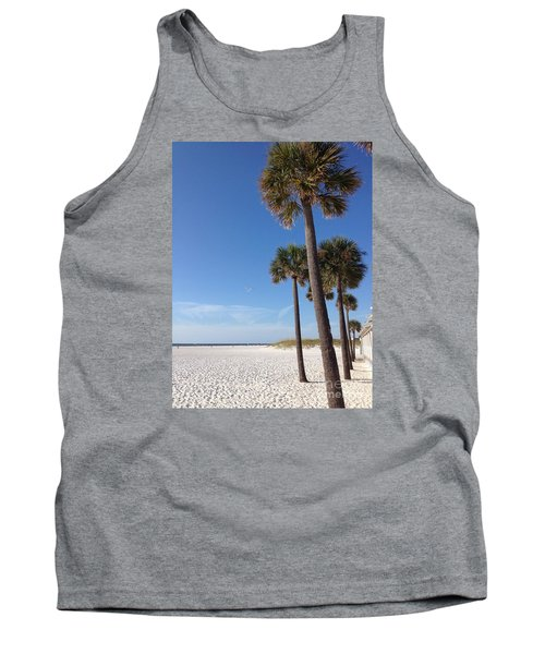 Clearwater Palms Tank Top