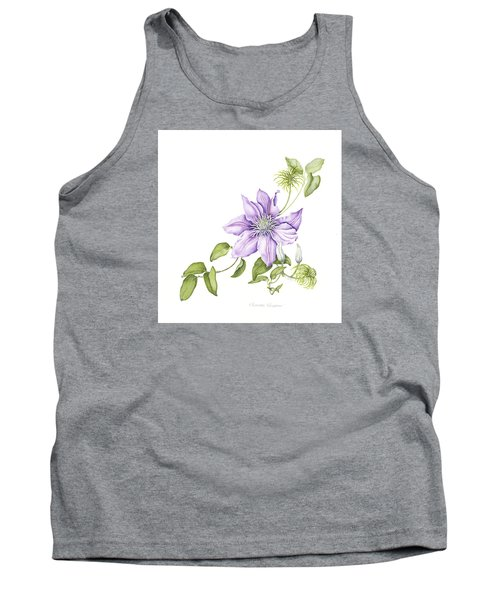 Clematis Cezanne Tank Top