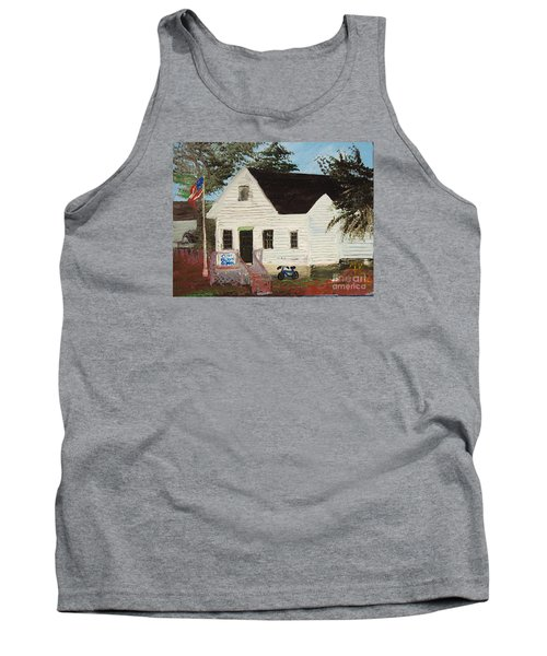 Cliff Island School Tank Top