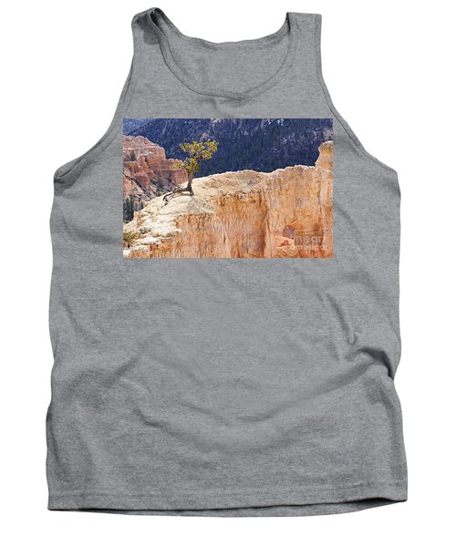 Clinging To The Top Of The Wall Tank Top