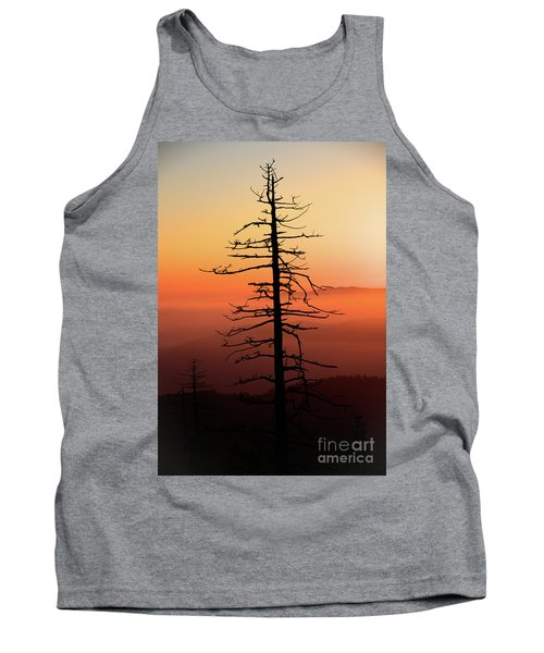 Tank Top featuring the photograph Clingman's Dome Sunrise by Douglas Stucky