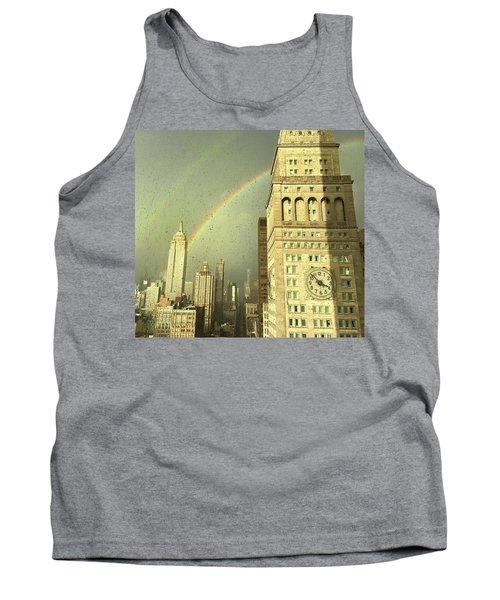 Clock Tower New York Tank Top