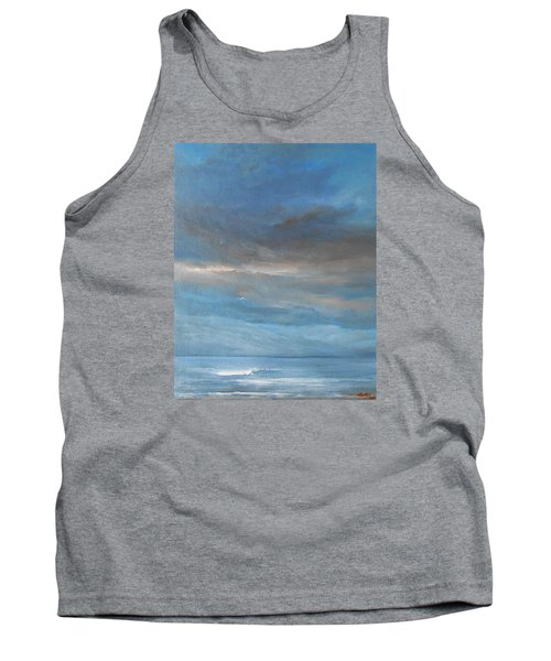 Tank Top featuring the painting Close Of Day by Jane See