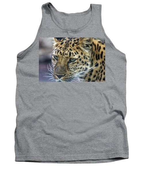 Close Up Of Leopard Tank Top