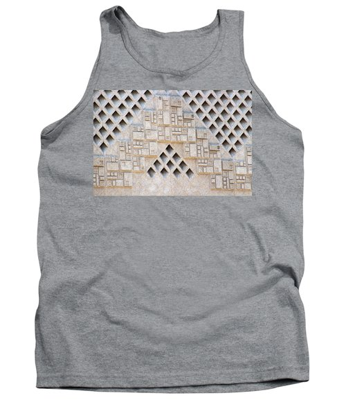 Closeup Of Federal Courthouse Roswell Tank Top