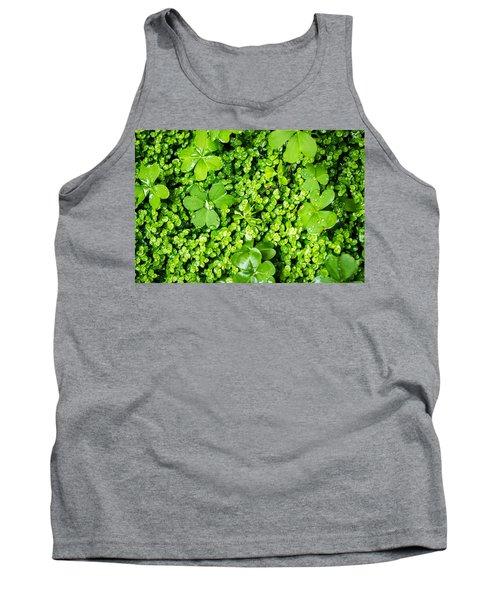 Lush Green Soothing Organic Sense Tank Top