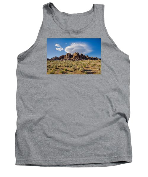 Cloud And Rocks Tank Top