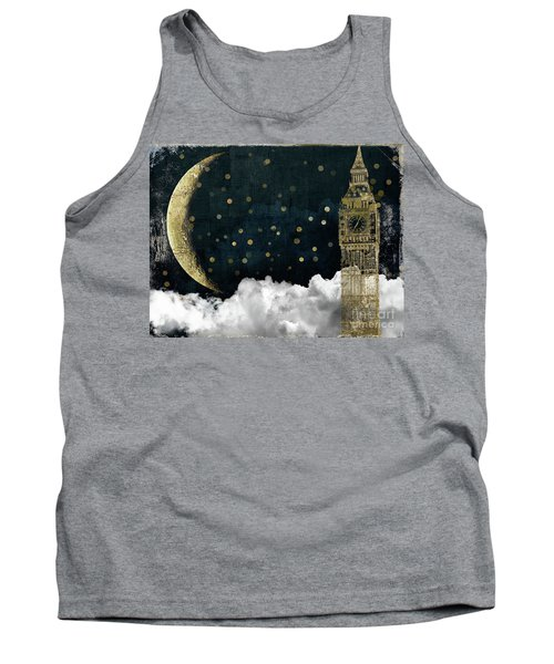 Cloud Cities London Tank Top by Mindy Sommers