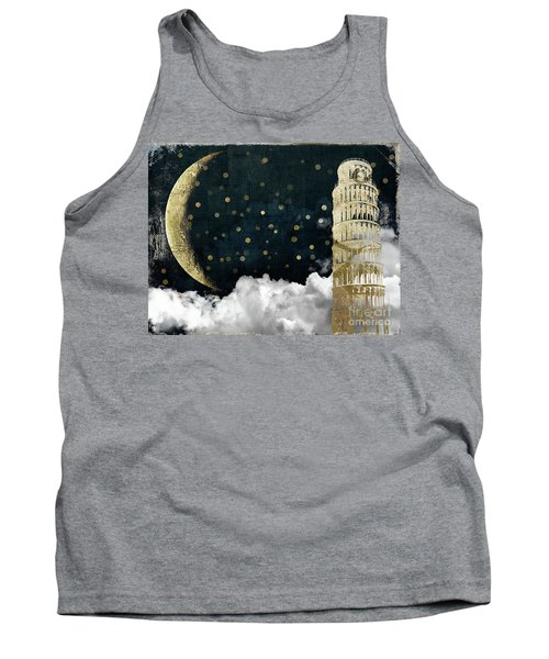 Cloud Cities Pisa Italy Tank Top by Mindy Sommers
