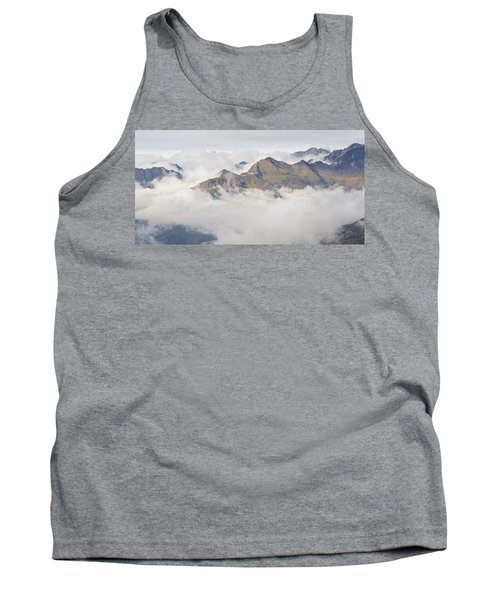 Cloud Inversion In The Pyrenees Tank Top