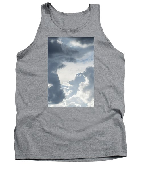 Tank Top featuring the photograph Cloud Painting by Laura Pratt