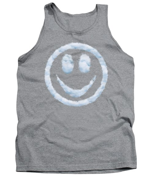 Cloud Smiley Tank Top