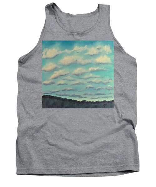 Cloud Study Cropped Image Tank Top