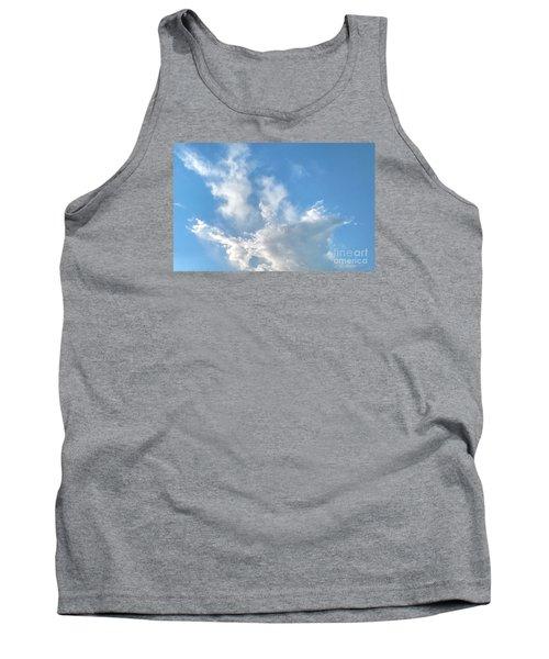 Cloud Wisps Too Tank Top