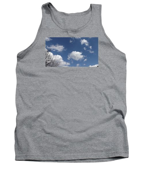Tank Top featuring the photograph Cloudbank 3 by Don Koester