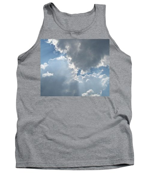 Clouds 1 Tank Top by Barbara Yearty
